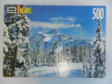 "Mount Shuksan Wilderness Snow Scene 500 Piece Jigsaw Puzzle Encore 13"" x 19"""