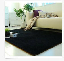Black Bathroom Carpets Rugs Area Bedroom  Living Room Floor Mat Cover