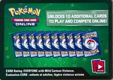 10x Pokemon Breakpoint Code Cards for Pokemon TCG Online Booster Packs