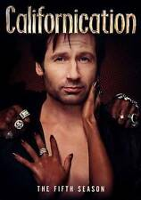 Californication: The Fifth Season 5 (DVD, 2012, 2-Disc Set)   NEW