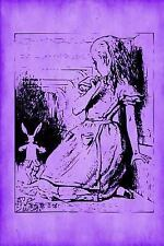 Alice in Wonderland Notebook Journals - Purple Collection: Alice in...