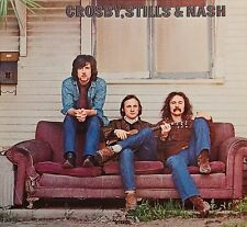 Crosby, Stills And Nash 1969 Debut Album REMASTERED New Sealed CD