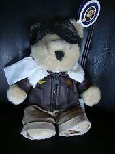 STARBUCKS AVIATOR PILOT BEARISTA BEAR 2004 NEW W TAGS - very cute collectible