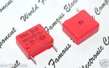10pcs-WIMA MKP-X2 0.22uF (0.22µF 0,22uF 220nF) 305V ac 10% pitch:15mm Capacitor