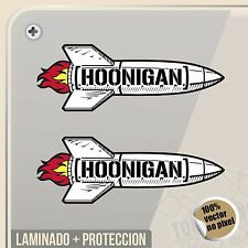 PEGATINA HOONIGAN ROCKET KEN BLOCK VINILO DECAL AUFKLEBER STICKER DECAL ADESIVI