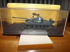 "COLLECTOR DIE CAST TANK, T-55A, POLISH ARMY, PRAGUE 1968, 3.5"" LONG TANK BODY, N"