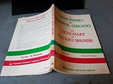 US Army Bibliotheksbestand: Dictionary of Chicano Spanish 0832596345 Galvan
