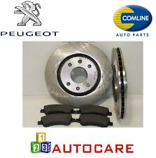 Front Brake Discs And Pads For Peugeot 207 1.4,1.6 HDI HDI 110