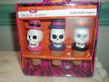 Boston Warehouse Witch Doctor Bobble Bottle Stopper 3 Pc Set ~ NEW!!!