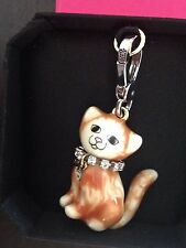 BRAND NEW! JUICY COUTURE CAT BRACELET CHARM IN TAGGED BOX