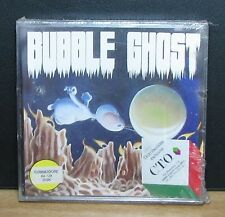 BUBBLE GHOST - C.T.O. - Commodore 64 - NUOVO NEW OLD STOCK SEALED - 1988 Vintage