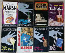 Ngaio Marsh lot 8 Inspector Alleyn Mysteries includes Artists in Crime & 7 more!