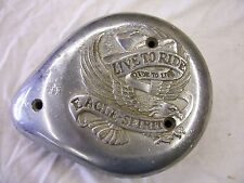 HARLEY DAVIDSON SPORTSTER PANHEAD SHOVELHEAD EVO LIVE TO RIDE AIR CLEANER COVER