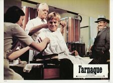 ROBERT REDFORD THE STING  L'ARNAQUE 1973 VINTAGE LOBY CARD  #2 COIFFURE BARBER