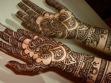 Fresh Quality Henna Mehndi Hand Made Tattoo Paste Pen Cones Indian Pakistani New