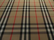 Burberry Check 1 metres 100% Cotton