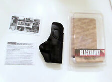 BLACKHAWK Leather IWB Inside Waistband HOLSTER HK P2000 SK P30 USP COMPACT Lefty