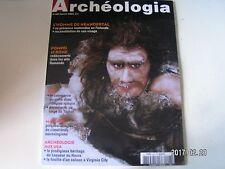 **c Archéologia n°407 L'Homme de Néandertal / Mayenne : Cimetières mérovingiens