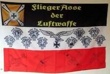 Wehrmacht Fahne  Ritterkreuzträger der Luftwaffe Standarte Flagge Jagdflieger