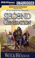 Dragonlance the Second Generation: The Second Generation 1 by Tracy Hickman...