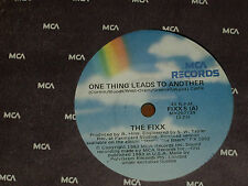 """THE FIXX *RARE 7"""" 45 ' ONE THING LEADS TO ANOTHER ' 1983 MINT"""