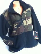 New North Face Men's Denali Fleece Jacket Black Scallion Green Camo Print Large