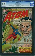 THE ATOM #1 CGC 5.5 1st Plant Master & Maya! 1962