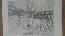 Robert laessig first snow signed and numbered Limited edition print