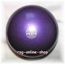RSG Ball JUNIOR BALL Gymnastikball VIOLETT metallic 150-170mm 300g NEU!