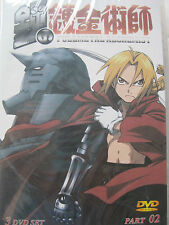 Fullmetal Alchemist Part 02 Import DVD Anime