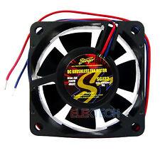"""Stinger SGJ32 Component Cooling Fan for Car Speaker 2.5"""" Square .13A Draw"""
