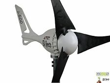 Windgenerator 12V  i-500W iSTA Breeze® small wind turbine i-500 Black Edition