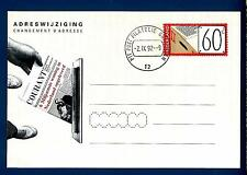 NETHERLANDS - OLANDA - 1992 - Cart. Post. - Cambio di indirizzo
