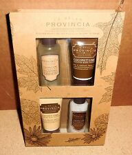 La Bella Provincia - Scented (Coconut Lime) Body Care Gift Set [VHTF] (NIB)