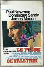 Affiche Belge LE PIEGE The MacKintosh man PAUL NEWMAN Dominique Sanda