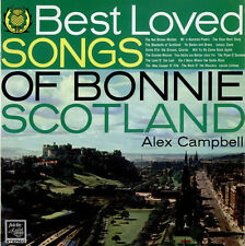 Alex Campbell & His Folk Group - Best Loved Songs of Bonnie Scotland - UK LP