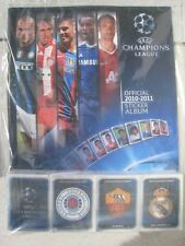 Panini UEFA Champions league 2010 2011 Complete Collection 564 Stickers + Album