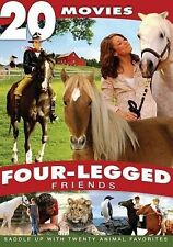 Four-Legged Friends: 20 Movies (DVD, 2013, 4-Disc Set) BRAND NEW