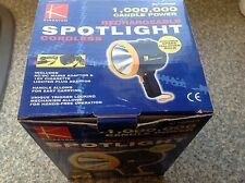 Torch lantern 1M candlepower spotlight boxed with  6V rechargeable spare