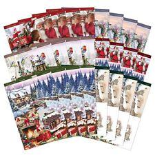 Hunkydory la joie de noël traditionnel decoupis A4 48 feuilles JOYX108