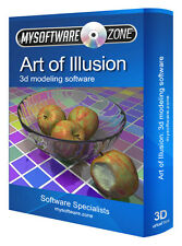 Art of Illusion Pro 3D Animation Modelling Software for PC