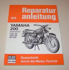 Reparaturanleitung Yamaha  RD 200 / CS - 3E / CS - 5E !