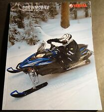 2011 YAMAHA SNOWMOBILE ACCESSORIES & APPAREL SALES CATALOG BROCHURE (227)