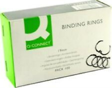 Q-Connect KF02216 Binding Ring 19mm (Pack of 100) kf02216