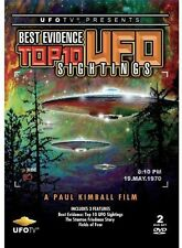 Best Evidence: Top 10 UFO Sightings (2013, REGION 1 DVD New)