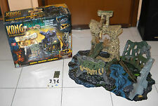 King KONG SKULL ISLAND PLAYSET Playmates 2005 The 8th Wonder of World