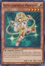 3x Satellarknight Procyon - NECH-EN028 - Common - 1st Edition YuGiOh NM NECH - T