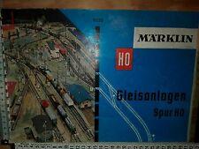 A20) Märklin Gleispläne Gleisanlagen H0 Gleisplanheft Modellbau 0330