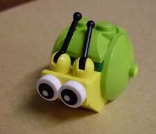 Lego Snail ( The Lego Movie ) - Schnecke gelb grün Tiere Animals Neu