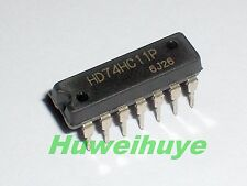 10pcs DIP IC HD74HC11P Provide Tracking Number